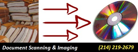 Document Scanning in Addison Texas