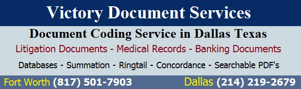 Document Coding in Dallas Texas